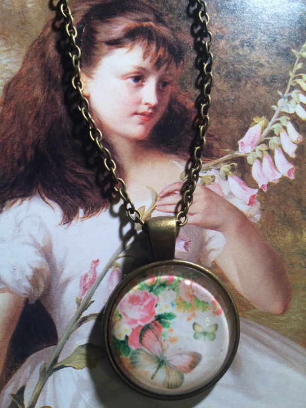 """Ketting brons """"Beautiful Butterfly"""""""