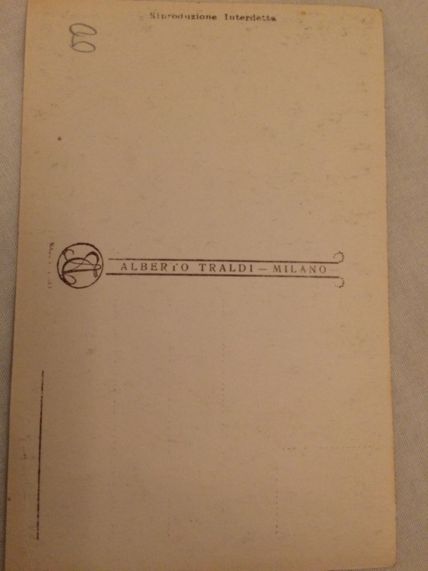 Giovane con cigno   Jongen met zwaan   ca. 1920 - vintage briefkaart Kunst