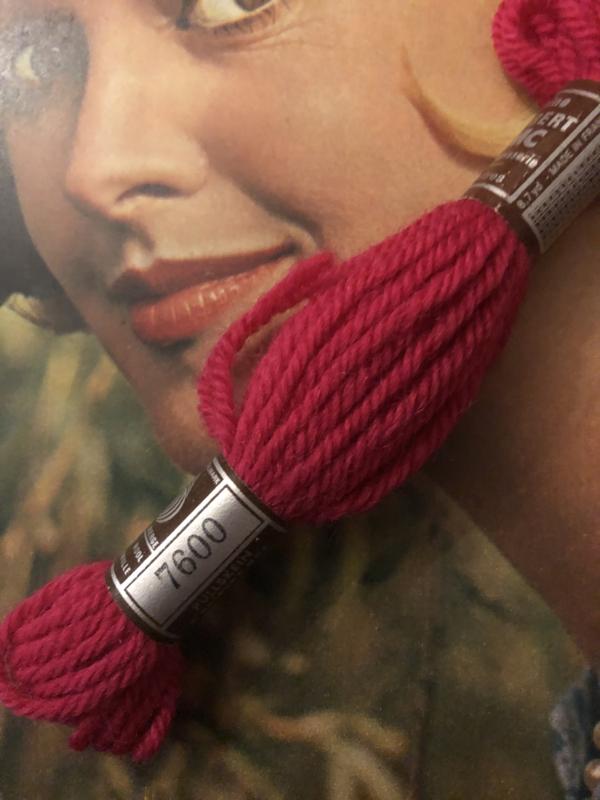 Borduurwol   7600    Colbert DMC Tapestry wool - Rood