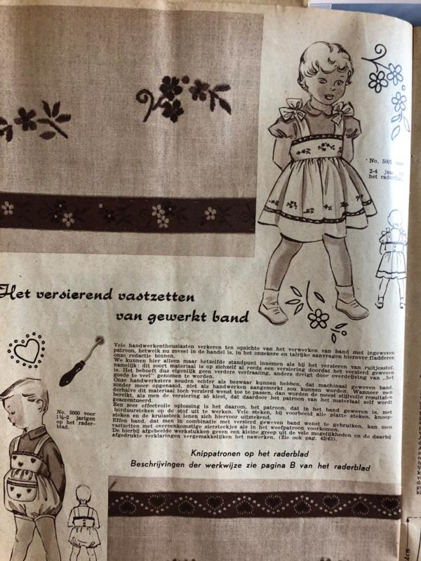 Hoe bevestig je bandjes: tip van oma uit 1951