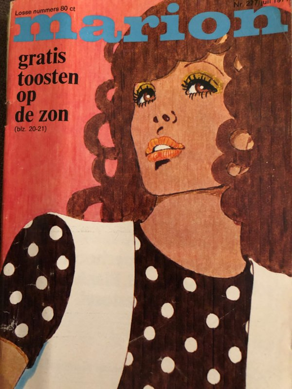 VERKOCHT | 1971 | Marion naaipatronen maandblad | nr. 277 juli 1971