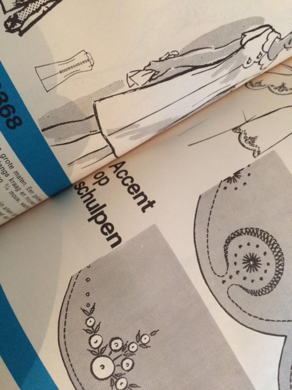 Knippatronen |  in opdracht vervaardigd voor en exclusief gedistribueerd bij Centra | 1972