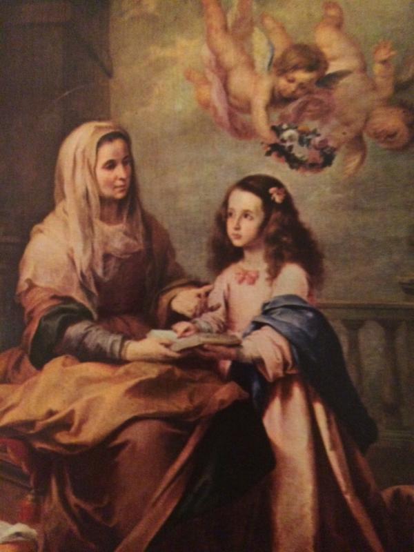 Kaarten | Kunst | Museo del Prado STA Ana Y La Virgin Sainte Anne et la Vierge
