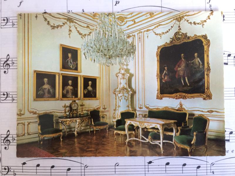 Oostenrijk | vintage briefkaart Slot Schönbrunn | Paleis Sisi (Elizabeth) | jaren '80
