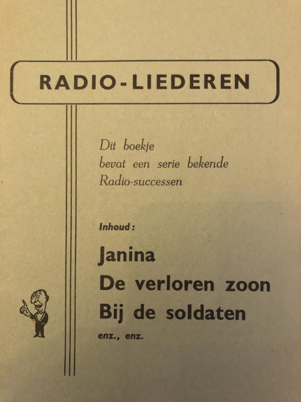1950 | Muziek | Songteksten | Radio-liederen: Janina (Liedjes)