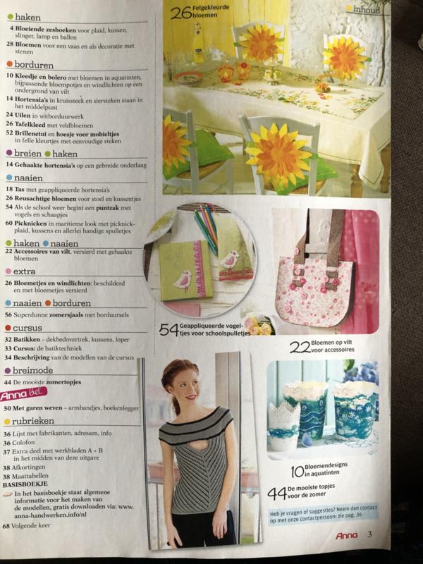 Tijdschriften | Handwerken | Anna: plezier met handwerken 2014 nr. 07 juli - BATIK