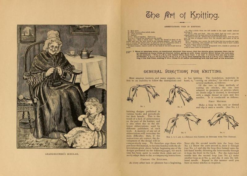 1892   The Art of Knitting
