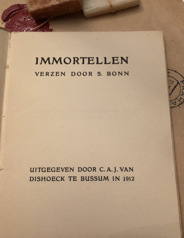 1912 | Immortellen verzen door S. Bonn