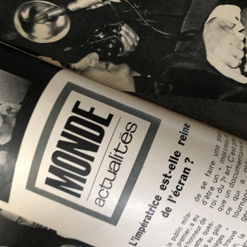 1965 | Jours de France | no 536 20 Fév 1965 - met special over 'Grace de Monaco' Grace Kelly