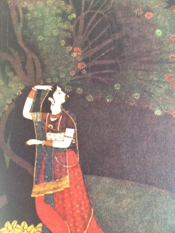 India | Klein boekje Indische Kunst | II Miniaturen der Himalaya-Staaten |  1963