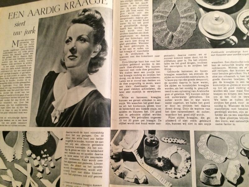 1955 - Goed nieuws - vintage dames weekblad (voorloper Libelle) |  4 - 10 januari 1955