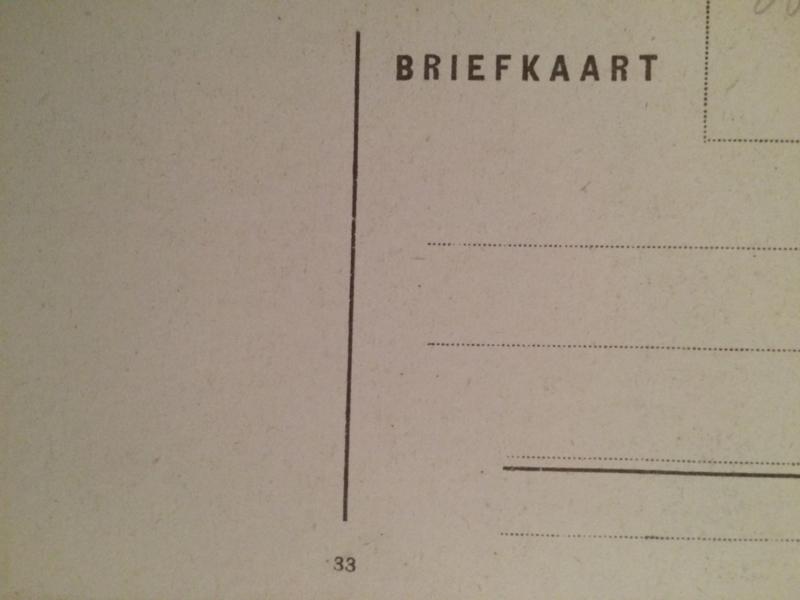 1950 - De Schoone Herderin  Paulus Moreelse - vintage zwart-wit briefkaart Kunst