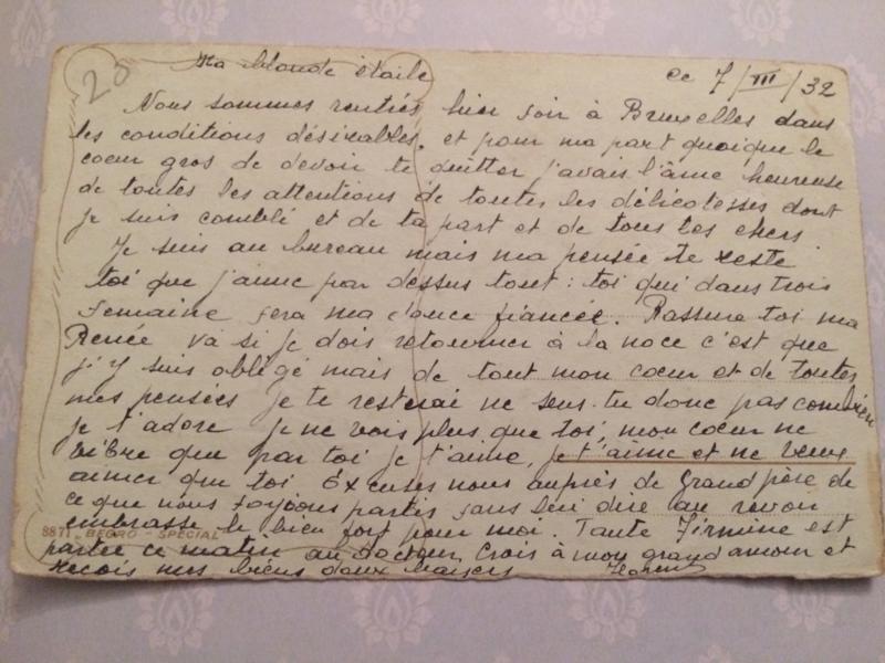 1905-1908 | Verjaardag | Antieke Carte Postale | beschreven briefkaart Heureux Anniversaire