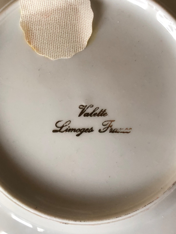 1960   Prachtig Valette Lourdes Limoges bordje   jaren '60