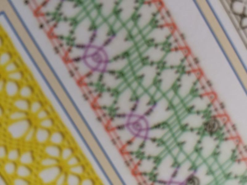 "Maison Sajou| Pink album to bobbin lace n°451 ""Petite Methode de Dentelle a la Main"" | Kantklossen - NIEUW"