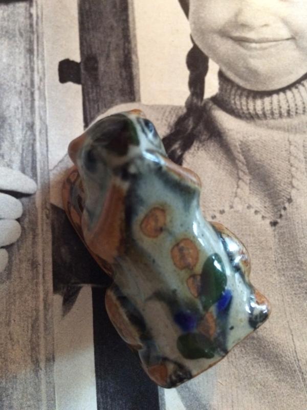 Allerliefst eekhoorntje letterbak formaat (S) van porselein