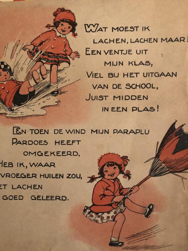 1938   Oude illustraties uit kinderboekje jaren '30