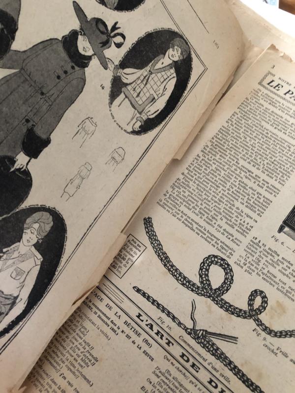 1927 | La Revue de Madame no 239 - 16 Juin 1927 - publicité sous la Direction de Mme A. Domange