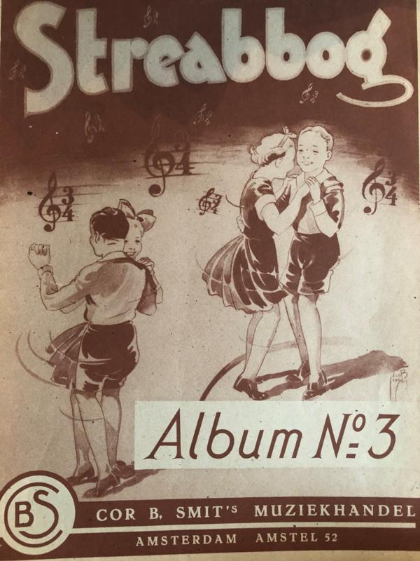 1880 | Bladmuziek Streabbog Album no. 3 | Cor B. Smit's muziekhandel Amsterdam | Jean Louis Gobbaerts