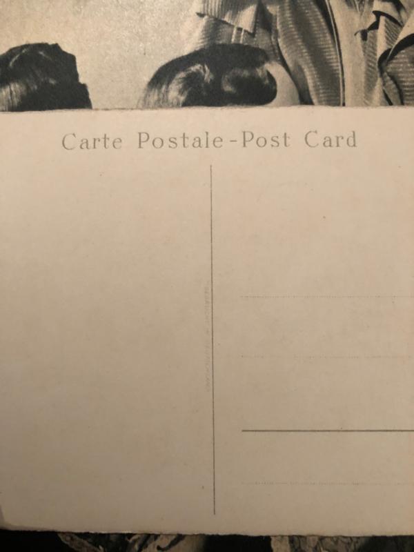 1950 - Briefkaart Moederdag Meisjner no 106  'Meinem lieben Mutchen die besten Wunchen'