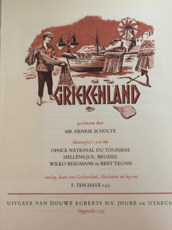 Griekenland | Verzamelalbum | Douwe Egberts N.V. Joure (Friesland) en Utrecht |  1965