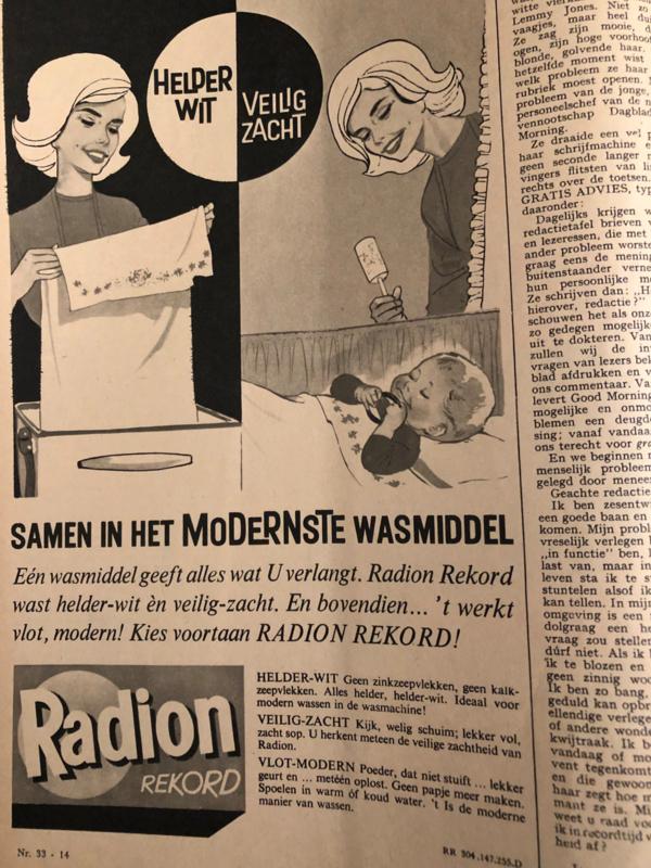 1962 | Advertentie Radion waspoeder