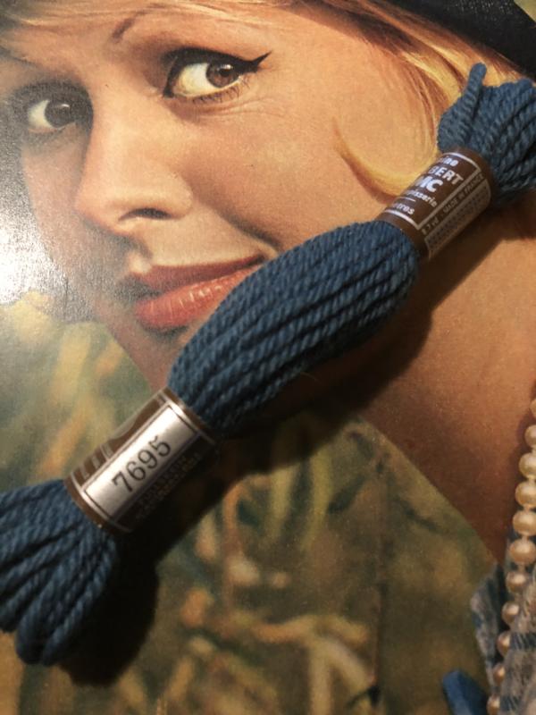 Borduurwol | 7690 - 7692 - 7695  | Colbert DMC Tapestry wool - Teal blauw tinten