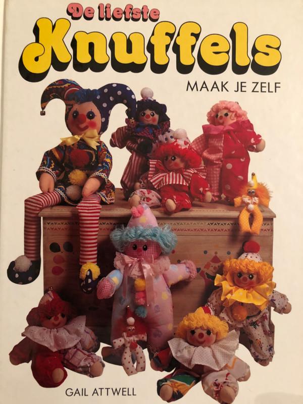 De liefste knuffels maak je zelf   Gail Attwell - Vintage 1974
