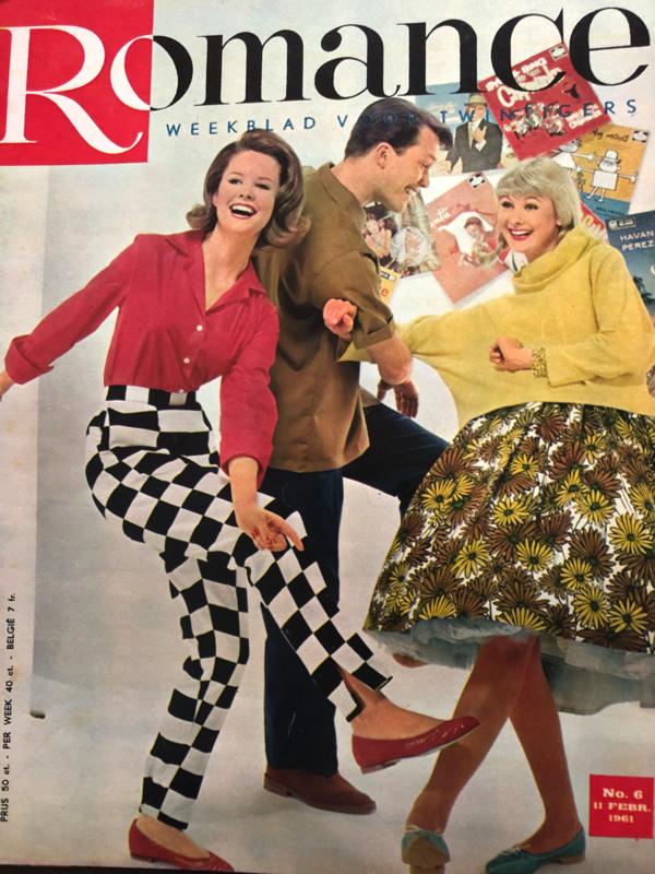 VERKOCHT   1961   Romance weekblad voor de twintigers   nr. 06 - 11 februari 1961 (Louis Armstrong en Toon Hermans)