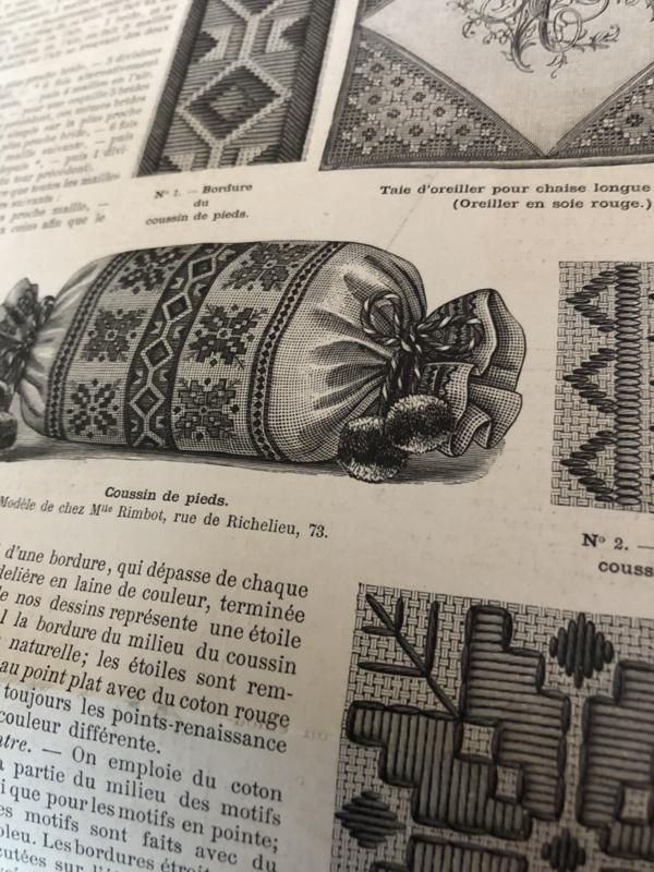 1891   La Mode Illustree Twente-deuxiéme Année Dimanche 26 avril 1891