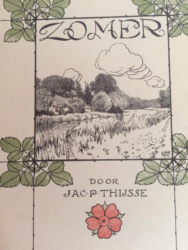 Verzamelalbum | Koninklijke Verkade's  Fabrieken N.V. Zaandam | Zomer Jac. P. Thijsse | Verkade plaatjesalbum | Zomer & Keuning | 1975