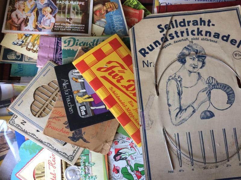 Z - Duitse naaldenboekjes en naaigerei verzameling   oktober 2018