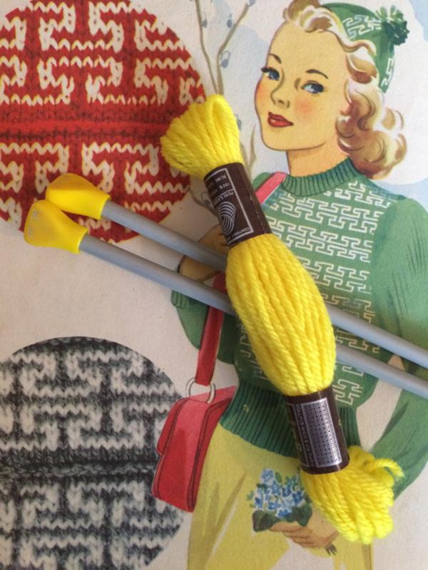 Breien | Vintage breinaalden (2 st.) Prym maat 5,5 | jaren '60-70