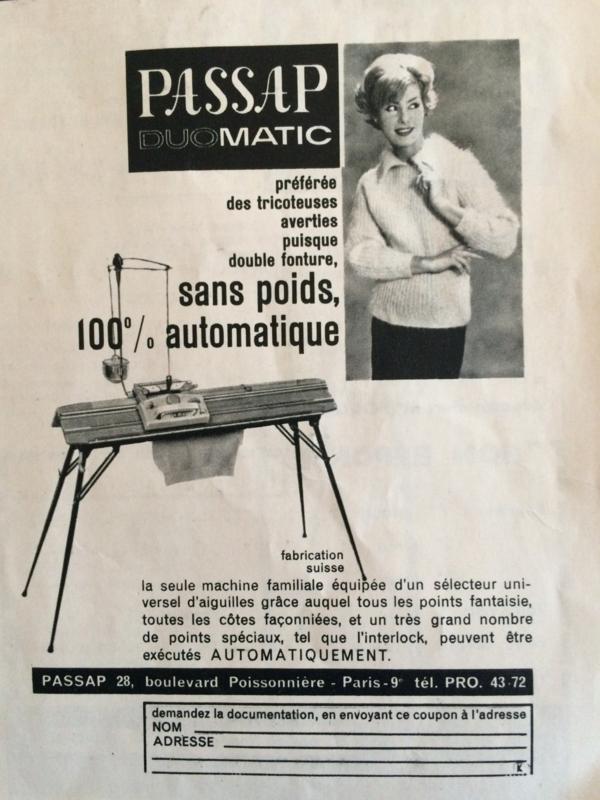 1958 | Breien | Koninklijke Scheepjeswolfabrieken Veenendaal | PASSAP breigids