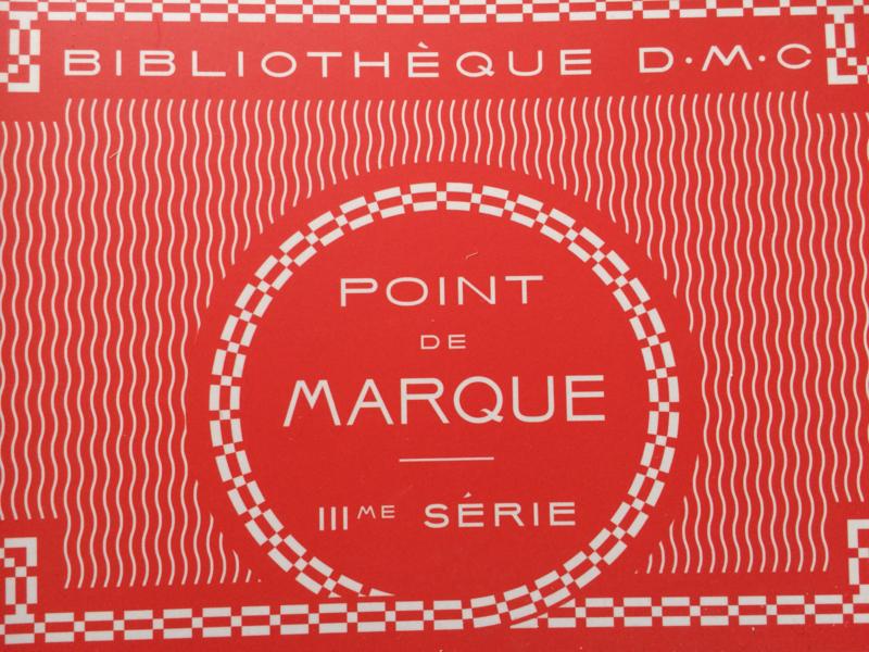 DMC Kruissteek patronen | DMC Point de marque 3me Série Bibliothèque | Sajou NIEUW