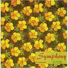 Boeken | Kruissteken | Zweden | Symphony - Sara Lawergren - Vintage Swedish Crosstich Patterns - 1965