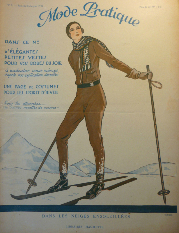 1930 | Revue Mode Pratique no. 3 Samedi 18 Janvier 1930 - Libraire Hachette