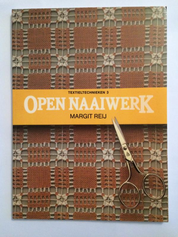 VERKOCHT   Boeken    Borduren   Vintage   1986   Open naaiwerk   Margit Rey