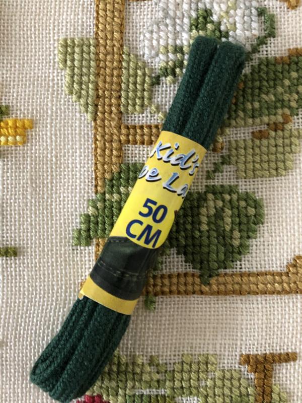 Band | Groen | Kinderveter(s) 50 cm Kids shoe lace - vintage