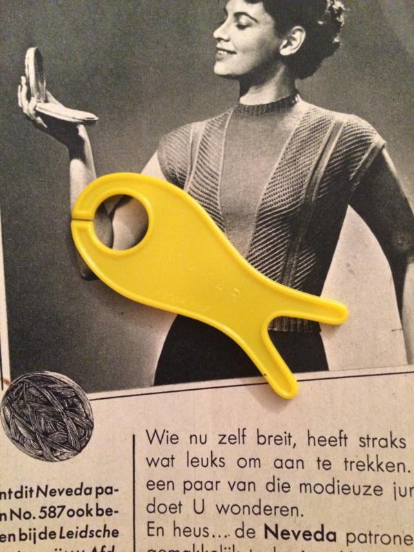 Vintage breivisje zonder garen | jaren '70