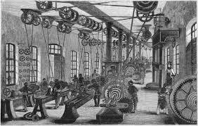 Geschichte der Produktionstechnik Nadeln