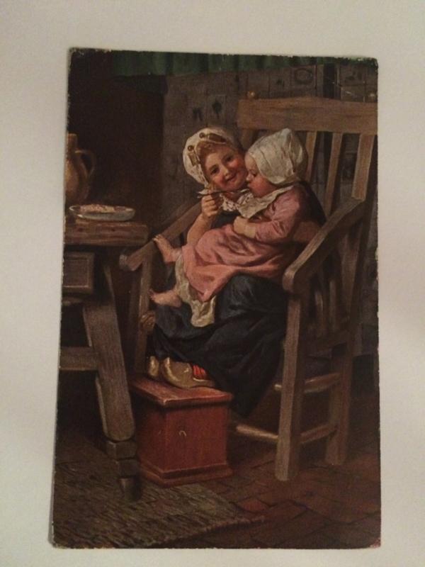 1924 | Nederland | Zeeland  | 'Kindje krijgt pap van grote zus'