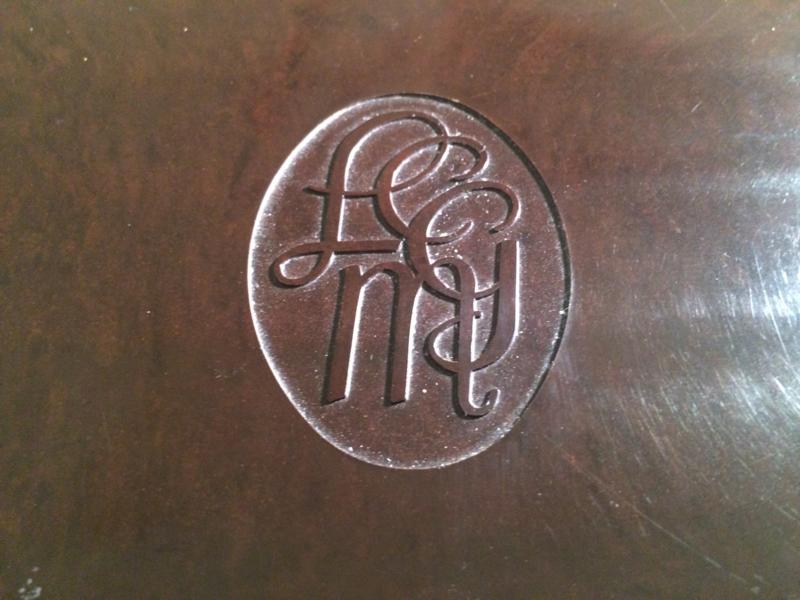 1930 | Bakelieten school letterdoos LCGM  | Dictee | 1930-1940 Malmberg 's-'s-Hertogenbosch