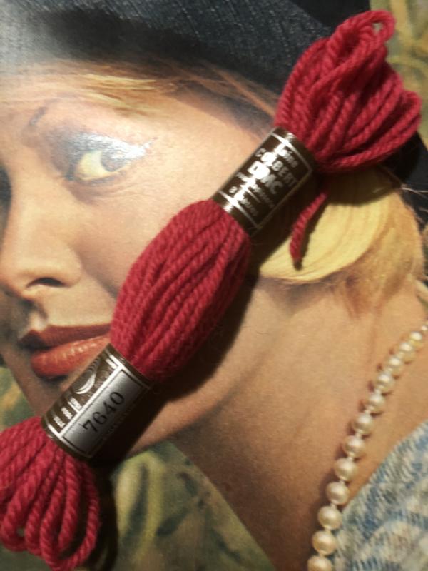 Borduurwol | 7640  | Colbert DMC Tapestry wool - Rood