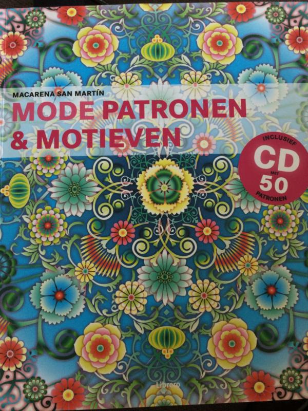 Boeken   Mode   Mode Patronen & Motieven inclusief CD-ROM - Marcena San Martin