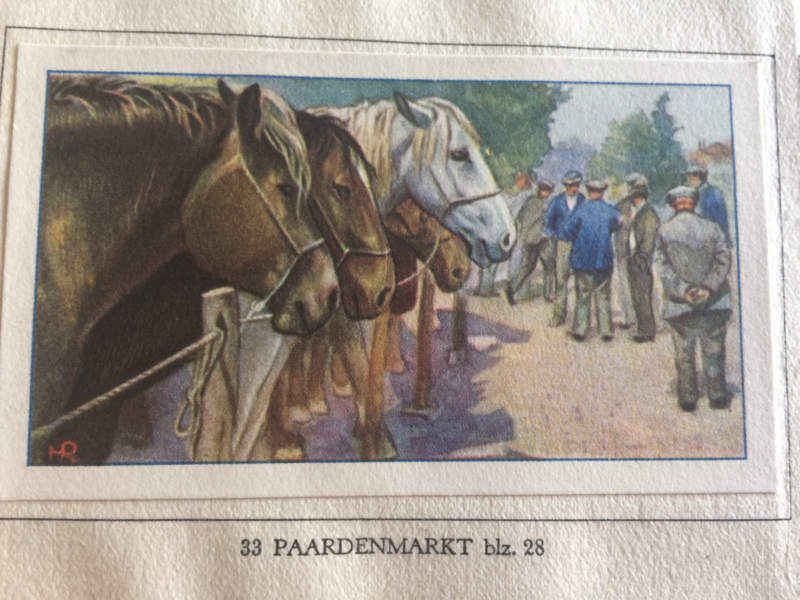 Verzamelalbum   Koninklijke Verkade Fabrieken N.V   De Boerderij   1936