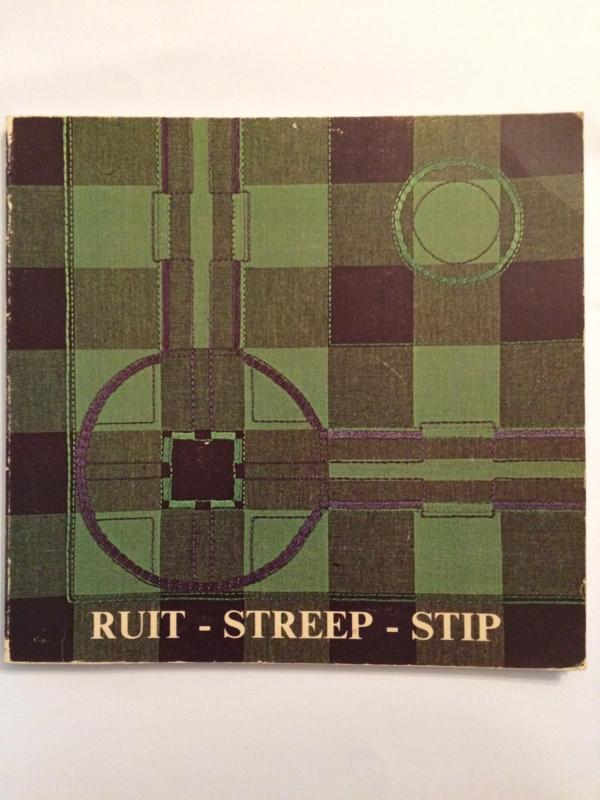 Boeken    Borduren   Vintage   1980   Ruit - Streep - Stip    Verandering en versiering   Jensma-Tolman, A.W.