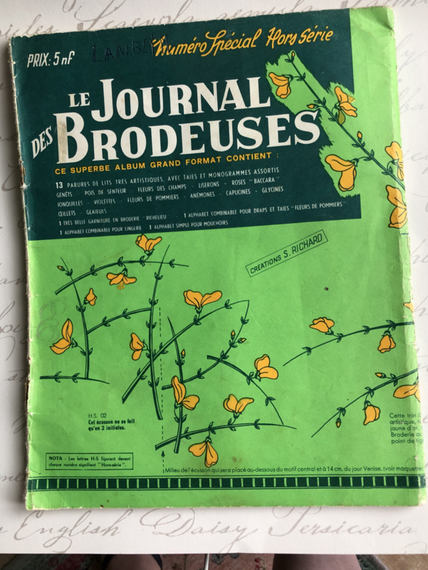 1962   Le Journal Brodeuses