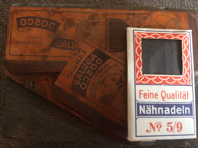 Clichés voor naaldenverpakkingen o.a. Dosco Nahnädeln
