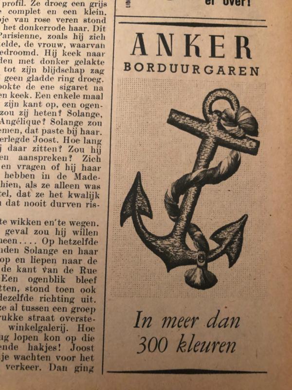 1951 - Advertentie Anker Borduurgaren